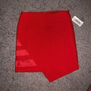 NWT F21 cut out bodycon skirt